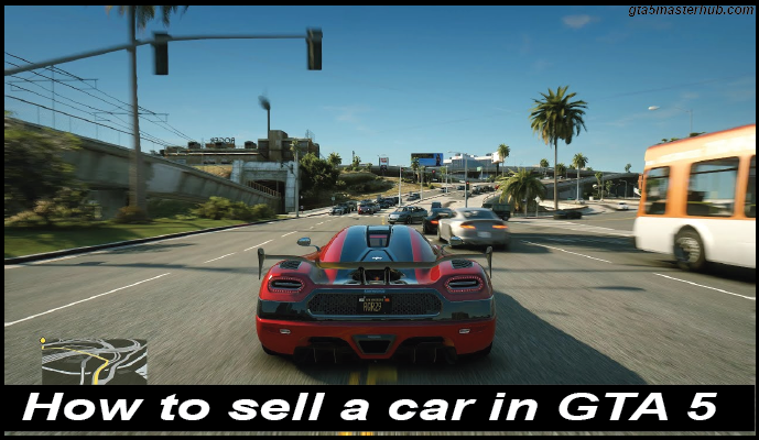 How to sell a car in GTA 5-01