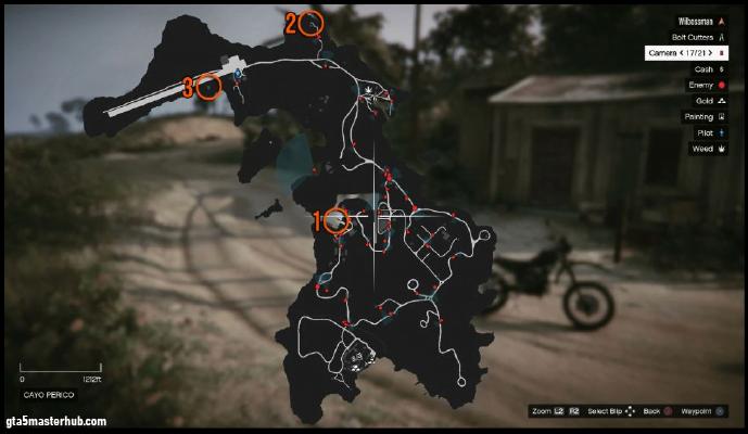 GTA 5 Map locations