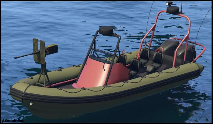 Weaponized Dinghy & Dinghy gta v